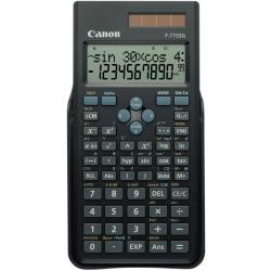 Canon F-715SG - Calculatrice scientifique - 10 chiffres + 2 exposants - panneau solaire, pile - noir