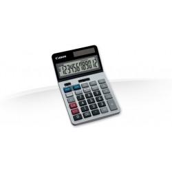 Canon KS-1220TSG - Calculatrice de bureau - 12 chiffres - panneau solaire, pile - argenté(e)