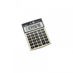 Canon LS-80TEG - Calculatrice de bureau - 8 chiffres - panneau solaire, pile - argent métallique