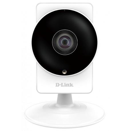 """Caméra mydlink Home Wireless AC HD 180° panoramique jour et nuit - Capteur CMOS progressif 1/2.7"""" Megapixel 1280 x 720 - Angle"""