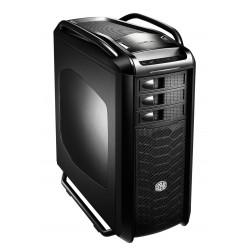 Cooler Master Cosmos SE - Pleine tour - ATX - pas d'alimentation (ATX / PS/2) - noir minuit - USB/Audio