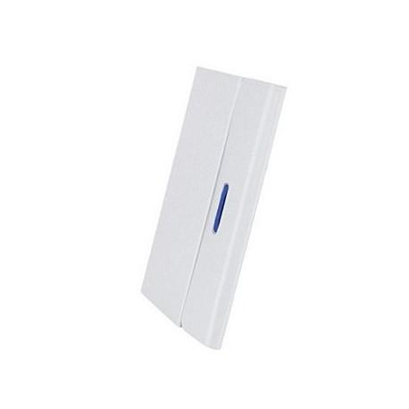 """Case Logic - Protection à rabat pour tablette - polycarbonate - blanc - 10.1"""" - pour Samsung Galaxy Tab 4 (10.1 """")"""