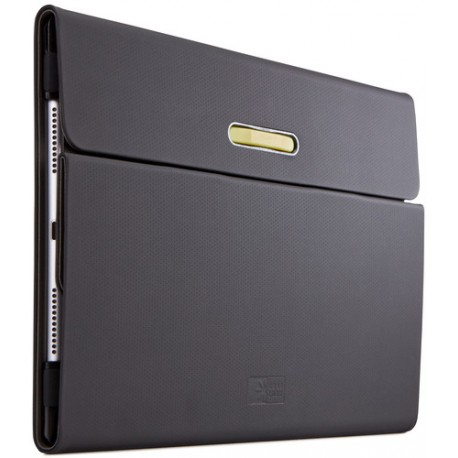 "Case Logic Rotating Folio - Protection à rabat pour tablette - polycarbonate - noir - 9.7"" - pour Apple iPad Air 2"