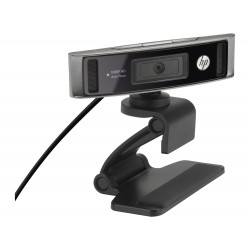 HP WebCam HD 4310 - Webcam pour ordinateur portable - panoramique / inclinaison - couleur - 1920 x 1080 - audio - USB 2.0