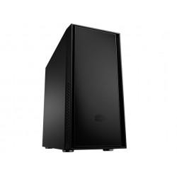 Cooler Master Silencio 550 - Tour midi - ATX - pas d'alimentation (ATX / PS/2) - noir mystérieux - USB/Audio