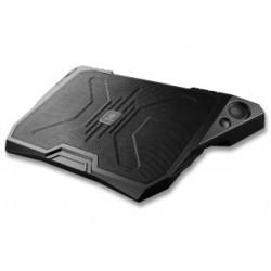 """Enermax AeroOdio CP006-Support ventilé pour ordinateur portable jusqu'au 17"""",- 2 haut-parleurs avec puce audio DreamBass inté"""