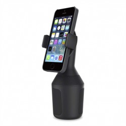Belkin Car Cup Mount - Support pour voiture - pour Apple iPhone 4, 4S, 5, 5s, 6, 6 Plus, Samsung Galaxy Note 3, Note II, S II,