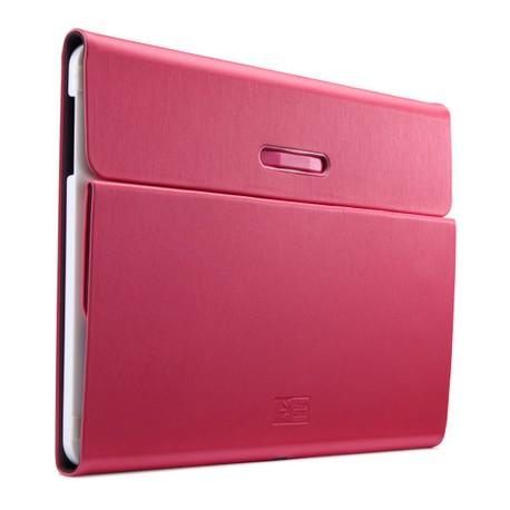 """Case Logic SnapView 2.0 - Protection à rabat pour tablette - polycarbonate - rose - 10"""" - pour Samsung Galaxy Tab 4 (10.1 """")"""