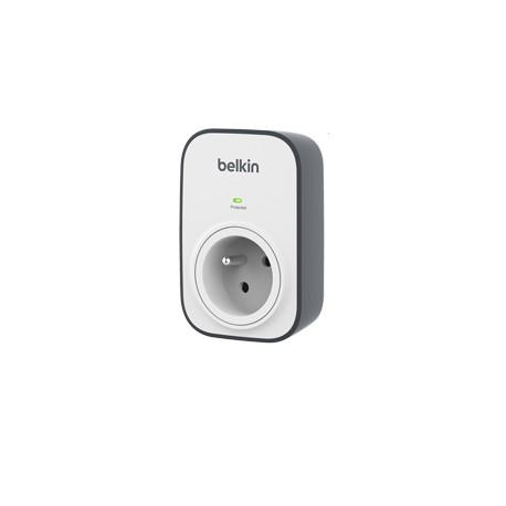 Belkin - SurgeCube - Prise Murale Parafoudre avec 2 Ports USB Intégrés (Protection jusqu'à 306 joules)