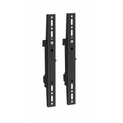 Vogel's Professional Connect-it PFS 3204 - Composant de montage (2 bandes d'interface) pour mur vidéo - noir - montable au pl