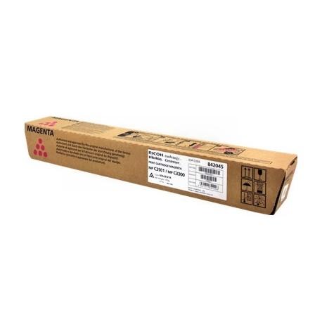 Ricoh - Magenta - original - cartouche de toner - pour Ricoh Aficio MP C2800, Aficio MP C2800AD, Aficio MP C3300
