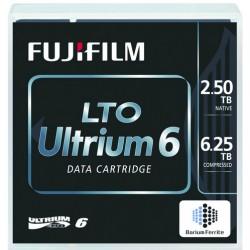Fuji - 5 x LTO Ultrium 6 - 2.5 To / 6.25 To - étiqueté - pour PRIMERGY RX2540 M2, RX600 S6, TX1320 M3, TX1330 M2, TX1330 M3, TX