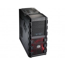 Cooler Master HAF 912 Advanced - Tour midi - ATX - pas d'alimentation (EPS12V/ PS/2) - noir - USB/Audio/E-SATA