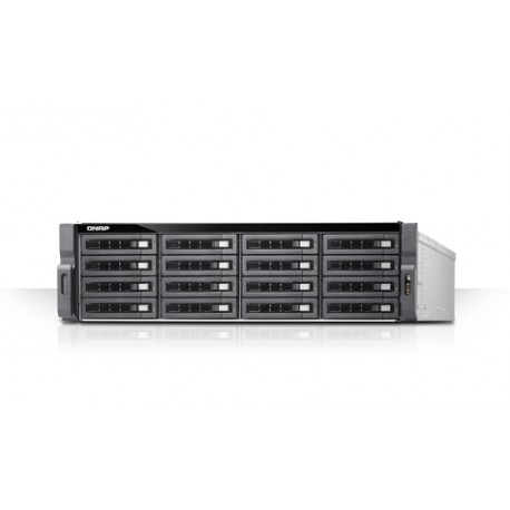 QNAP TDS-16489U-SA1 - Serveur NAS - 20 Baies - rack-montable - SATA 6Gb/s / SAS 12Gb/s - RAID 0, 1, 5, 6, 10, JBOD, disque de r