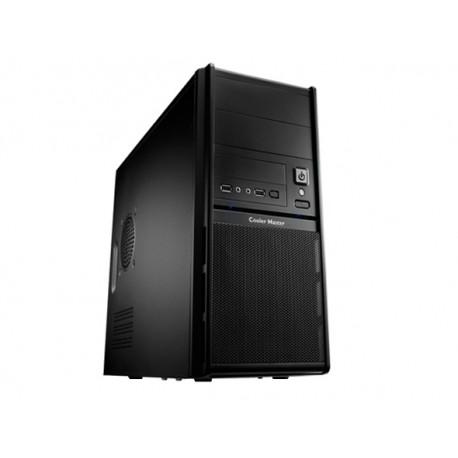 Cooler Master Elite 342 - Mini-tour - micro ATX - pas d'alimentation (ATX / PS/2) - noir - USB/Audio