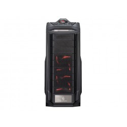 Cooler Master CM Storm Trooper - Pleine tour - ATX - pas d'alimentation (ATX / PS/2) - tout noir - USB/Audio/E-SATA