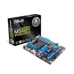 ASUS M5A99FX PRO R2.0 - Carte-mère - ATX - Socket AM3+ - AMD 990FX - USB 3.0 - Gigabit LAN - audio HD (8 canaux)