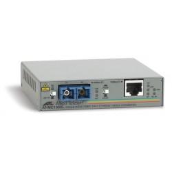 Allied Telesis AT MC103XL - Convertisseur de média à fibre optique - 100Mb LAN - 100Base-FX, 100Base-TX - mode unique SC / RJ-4