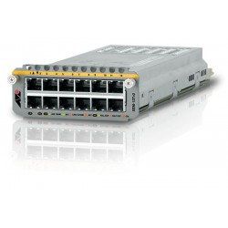 Allied Telesis AT-XEM-12Tv2 - Module d'extension - Gigabit Ethernet x 12 - pour AT x900-12XT/S, x900-24XS, x900-24XT, SwitchBl