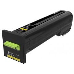 Lexmark - Extra High Capacity - jaune - originale - cartouche de toner LCCP, Entreprise Lexmark - pour Lexmark CS820de, CS820dt