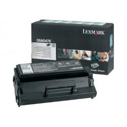 Lexmark - À rendement élevé - noir - originale - cartouche de toner Entreprise Lexmark - pour Lexmark E320, E322, E322n, E322tn