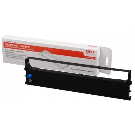 OKI - Noir - ruban d'impression - pour OKI ML1120 eco, Microline 1120eco, 1190, 1190eco