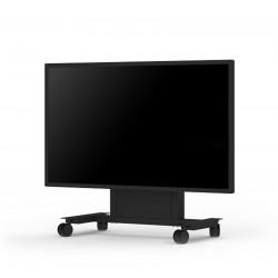 """NEC PD02MHA - Chariot (4 roulettes) pour écran plasma / LCD (motorisé) - noir - Taille d'écran : 46""""-84"""" - pour MultiSync E7"""