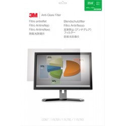 """Filtre anti-reflets 3M pour moniteur panoramique 23,6"""" - Filtre anti-reflet pour écran - 23,6"""" de large - clair"""