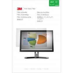 "Filtre anti-reflets 3M pour moniteur panoramique 24""(16:10) - Filtre anti-reflet pour écran - Largeur 24 pouces - clair"