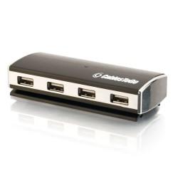C2G 4-Port USB 2.0 Aluminum Hub - Concentrateur (hub) - 4 x USB 2.0 - Ordinateur de bureau
