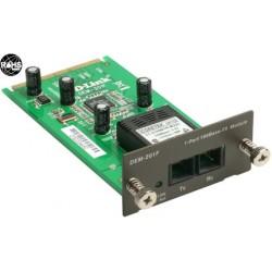D-link dem 201f - module d`extension - fast en - 100base-fx - 1 ports