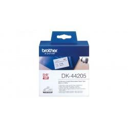 Brother DK44205 - Adhésif amovible - blanc - Rouleau (6,2 cm x 30,5 m) 1 rouleau(x) étiquettes - pour Brother QL-1050, 1060, 50