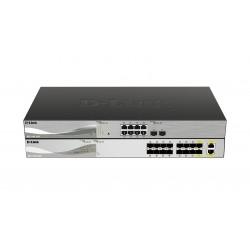 D-Link DXS-1100-16SC - Commutateur - intelligent - 14 x SFP+ + 2 x 10 Gigabit SFP+ - Montable sur rack
