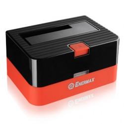 Enermax  EB310SC - Contrôleur de stockage avec 2 ports USB intégrés - 2,5 po./3,5 po. partagé - SATA 6Gb/s - 600 Mo/s - USB 3.0