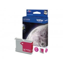 Brother LC1000M - Magenta - original - cartouche d'encre - pour Brother DCP-350, 353, 357, 560, 750, 770, MFC-3360, 465, 5460,