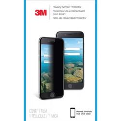 Film de protection confidentiel 3M pour Apple iPhone 6/6S/7 - Filtre de confidentialité pour écran (portrait) - noir - pour App