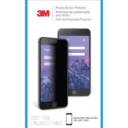"""Film de protection confidentiel 3M for Apple iPhone 6 Plus, 6S Plus, 7 Plus , 8 Plus 5.5"""" 16:9 MPPAP010 - Filtre de confidenti"""