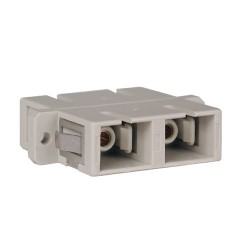 Tripp Lite Duplex Fiber Optic MMF / SMF Multimode Singlemode Coupler SC/SC - Coupleur réseau - SC multi-mode (F) pour SC multi-