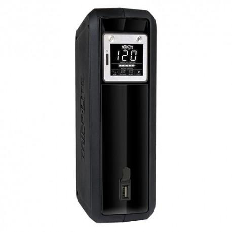 Tripp Lite UPS Smart 1000VA 500W Tower LCD AVR 120V USB Coax RJ45 - Onduleur - 12 A - CA 120 V - 500 Watt - 1000 VA - monophasé