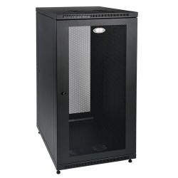 """Tripp Lite 24U Rack Enclosure Server Cabinet 33"""" Deep w/ Doors & Sides - Rack - armoire - noir - 24U - 19"""""""