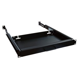 Tripp Lite Rack Enclosure Server Cabinet Keyboard Shelf 25lb Capacity - Étagère pour clavier - noir