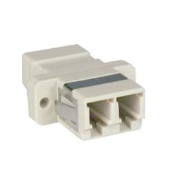 Tripp Lite Duplex Fiber Optic SMF Singlemode Network Coupler LC/LC - Coupleur réseau - mode unique LC (F) pour mode unique LC (