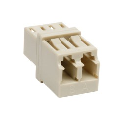 Tripp Lite Duplex Fiber Optic MMF Multimode Network Coupler LC/LC - Coupleur réseau - LC multi-mode (F) pour LC multi-mode (F)