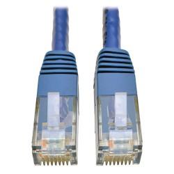 Tripp Lite Cat6 Gigabit Molded Patch Cable RJ45 M/M 550MHz 24 AWG Blue 5' - Cordon de raccordement - RJ-45 (M) pour RJ-45 (M)