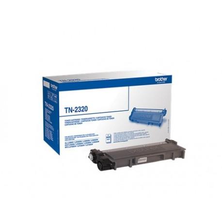 Brother TN2320 - Noir - original - cartouche de toner - pour Brother DCP-L2500, L2520, L2560, HL-L2300, L2340, L2360, L2365, MF