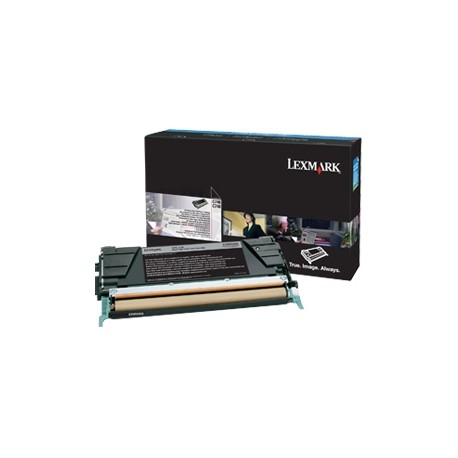 Lexmark - À rendement extrêmement élevé - noir - original - cartouche de toner LRP - pour Lexmark X644dte, X644e, X646dte, X646