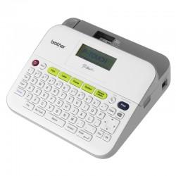 Brother P-Touch PT-D400 - Étiqueteuse - monochrome - transfert thermique - Rouleau (1,8 cm) - jusqu'à 20 mm/sec - impression p