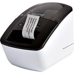 Brother QL-700 - Imprimante d'étiquettes - papier thermique - rouleau (6,2 cm) - 300 x 600 ppp - jusqu'à 150 mm/sec - USB