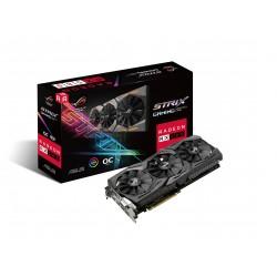 ASUS ROG-STRIX-RX580-O8G-GAMING - OC Edition - carte graphique - Radeon RX 580 - 8 Go GDDR5 - PCIe 3.0 x16 - DVI, 2 x HDMI, 2 x