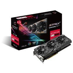 ASUS ROG-STRIX-RX580-T8G-GAMING - Carte graphique - Radeon RX 580 - 8 Go GDDR5 - PCIe 3.0 x16 - DVI, 2 x HDMI, 2 x DisplayPort